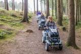 Explore the woodland at RHS Rosemoor with Countryside Mobility