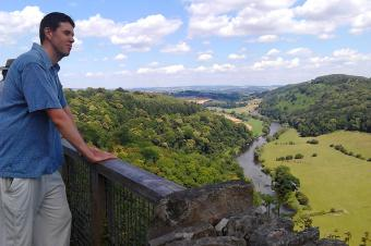 Symonds Yat in the Forest of Dean