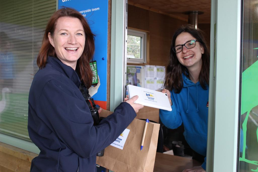 BSL videos being delivered to Seaton Wetlands