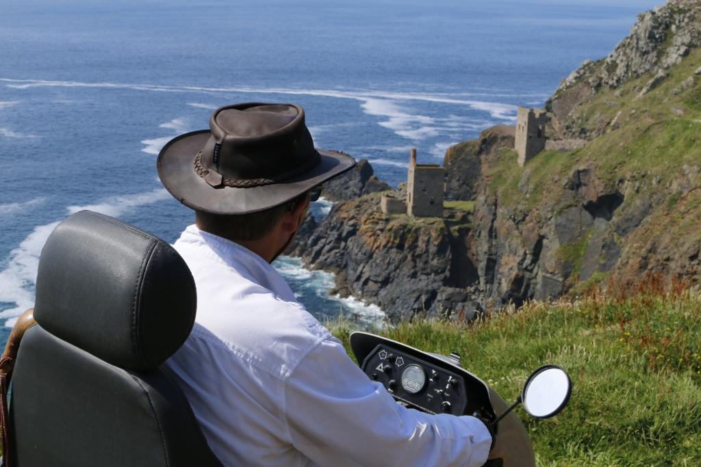 Tramper at Botallack